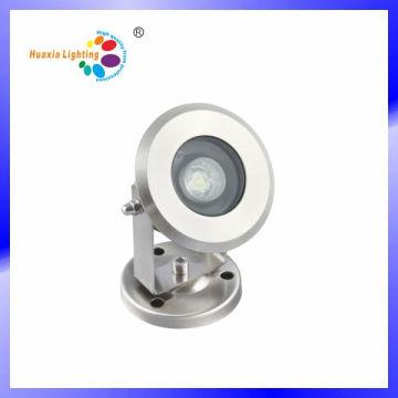 Мини-1W высокое качество нержавеющей стали светодиодные подводные лампы