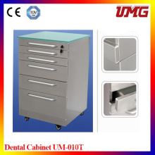 Hospital Dental Furniture Cabinet with Stainless Steel