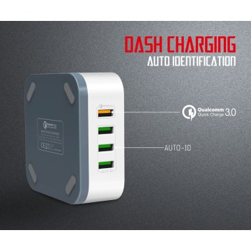 QC3.0 USB Schnell TRAVEL CHARGER Port