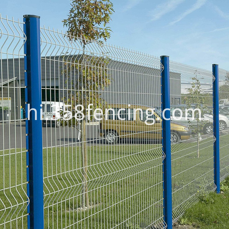 Triangle Bend 3D Fence