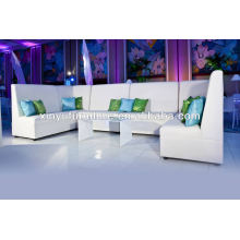PU leather sectional wedding sofa XY0322