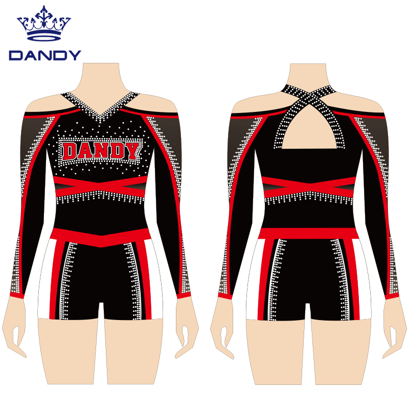 cheer uniforms with shorts