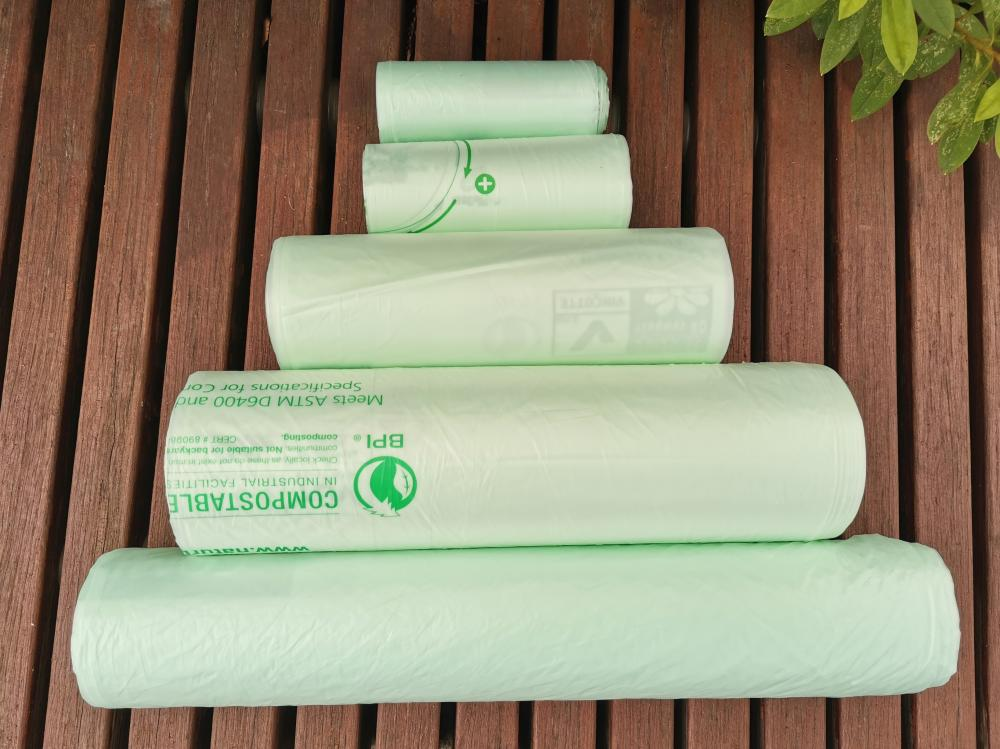 100% Biodegradable Waterproof Refuse Bags