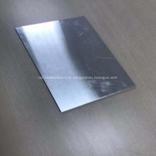 Chapa de alumínio super fina de carboneto