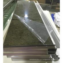 Obturadores acrílicos modernos novos do armário de cozinha com borda de borda do PVC & punhos (personalizados)