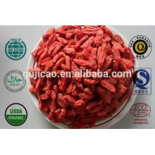 Zertifiziertes organisches Goji Beeren-Extrakt / Barbury Wolfberry Frucht-Auszug Puder mit Lycium Barbarum Polysacchariden