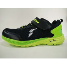 Brand Shoes Black Sneaker for Children