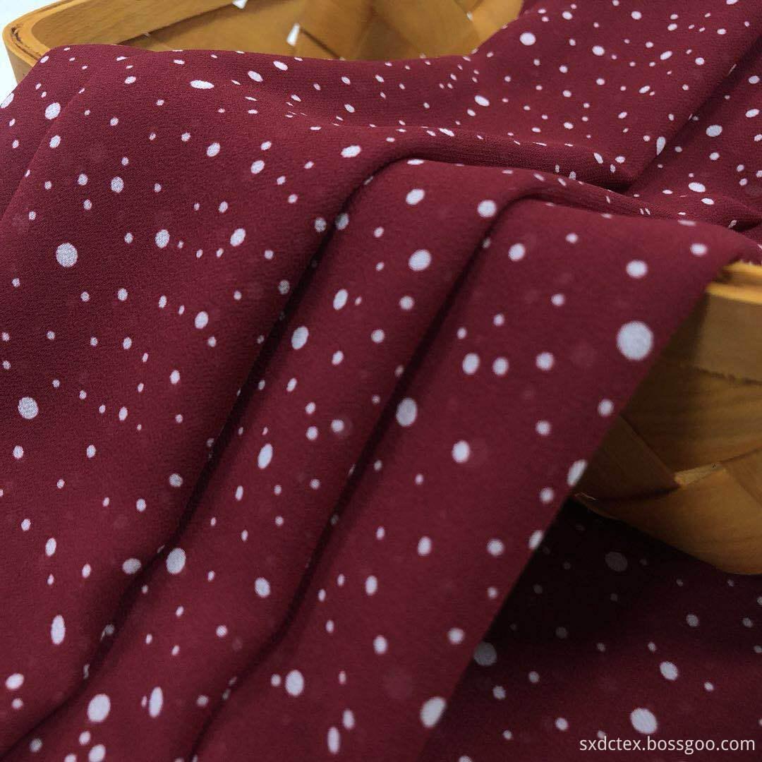 Moss Chiffon Fabric