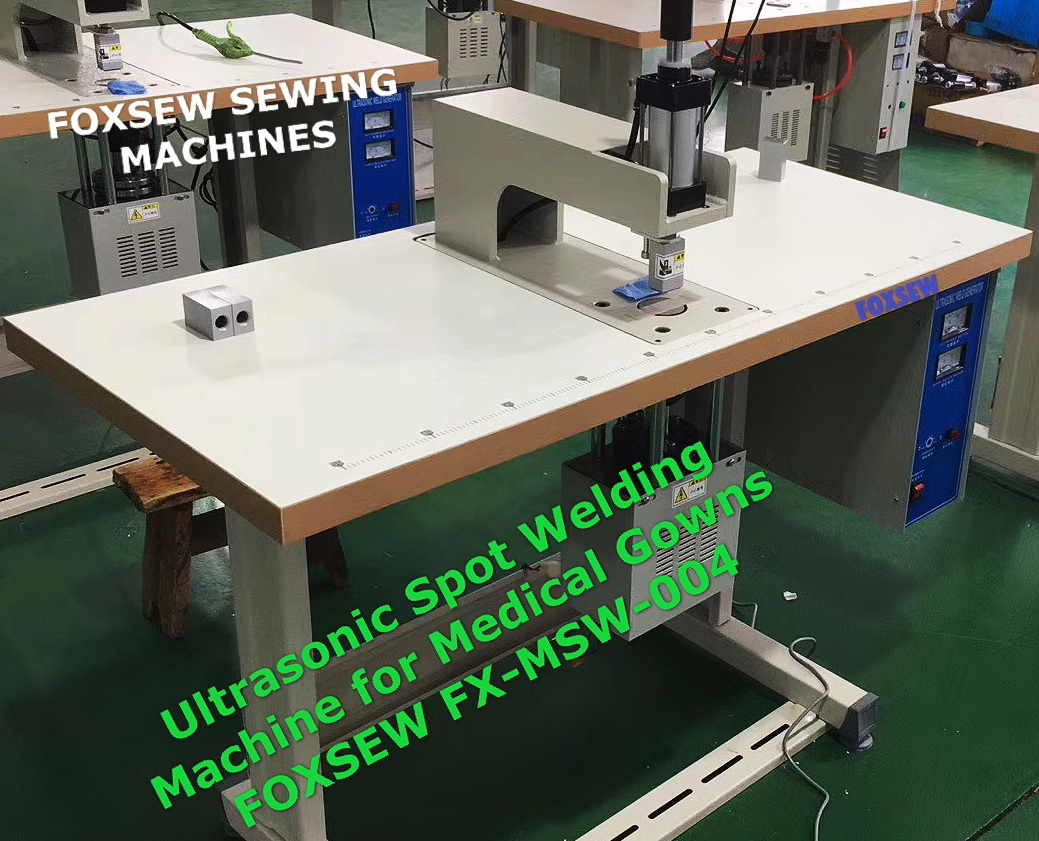 Ultrasonic Spot Welding Machine for Medical Gown FOXSEW FX-MSW-004 (2)