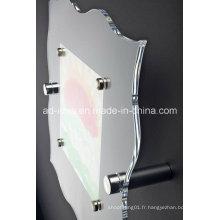 Support acrylique d'affichage de forme spéciale / support acrylique d'exposition (YT-62)