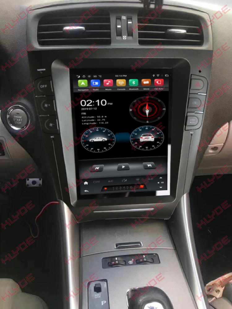 Lexus IS250/IS300/IS200IS220/IS350 2009 with dsp car navigation