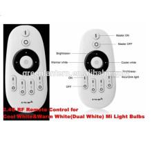 Controle remoto RF sensível ao toque, controle até 4 zonas WW / CW Colors