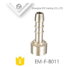 EM-F-B011 adaptador de rosca fêmea pagota cabeça encaixe de tubulação de bronze