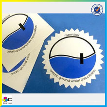 Design de moda elegante adesivo adesivo adesivo