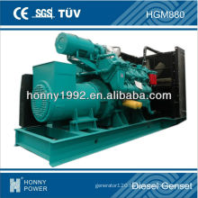 800kVA electrical generator by Popular Googol (China famous brand, close Shenzhen port)