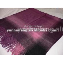 bufanda y chal de .wool de la cachemira