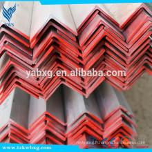 Acier à barres angulaires enroulées à chaud de haute qualité en acier inoxydable