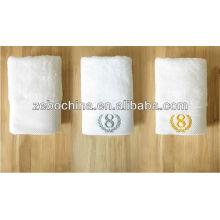 Alta qualtity cor macia suave disponível toalha de terry do hotel de algodão por atacado