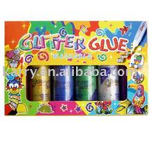 60ml Glitterleim (6 Farben)