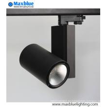 Luz de la pista del LED 30W 90ra CREE COB para la cadena de los zapatos de la ropa Iluminación de la tienda