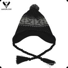Sombrero de acrílico del invierno del knit del invierno de la manera