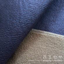 Кожа искусственная полиэфирной ткани для украшения