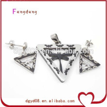 New fashion style stainless steel set jewelry