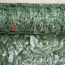 Искусственные зеленые пластиковые самшита хедж коврик листья бамбука (Фау-1)