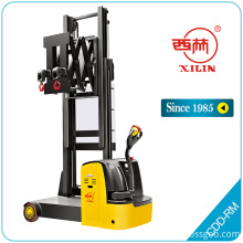 Xilin CDDRM electric narrow aisle stacker dengan derek