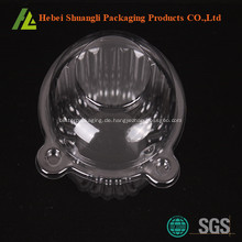 Transparente Kunststoff Cupcake Verpackung Kisten
