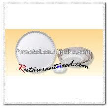 V339 Eloxierte runde geriffelte Kuchenform