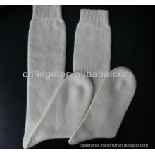 high quality pure cashmere knitted socks stocking