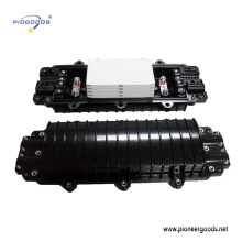 PG-FOSC0901 Günstigste horizontale Kunststoff-Lichtwellenleiter Joint Enclosure horizontale Art