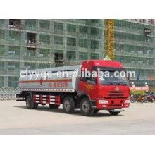 China fuel semi-trailer truck,chemical liquid 3-axle vehicle