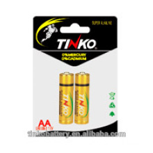 Factory wholesale price Size AA Alkaline Battery 1.5v