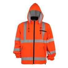 Зимняя полоса Желтая светоотражающая рабочая куртка безопасности