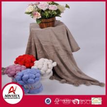 Cute microfiber coral fleece blanket, Quality factory coral fleece blanket, Bulk wholesale coral fleece blanket