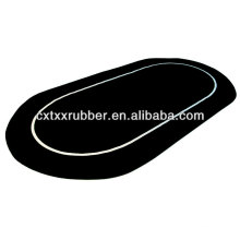 Texas Holdem Poker Table Top Rubber Mat ,casino gambling poker table rubber top