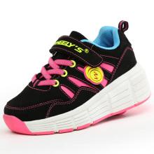2016 Новая модель 1 Wheel Roller Skate Выдвижная обувь Кроссовки для мальчиков девочек, лучшее качество Детские роликовые коньки Wheelys