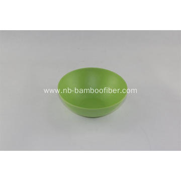 Little round bottom bamboo fiber round bowl