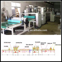 China hot melt laminating machine manufacturer / PVC laminating machine
