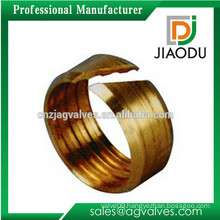 china manufacture high quality brass sleeve nut