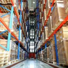 Very Narrow Aisle Storage System/VNA Rack for Heavy Duty Storage