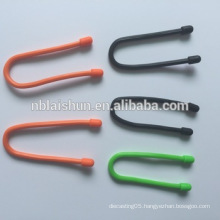 Boomray The Popular and Cute Cable Clip Cable Clamp Cable Ties with Silicon Gear Tie