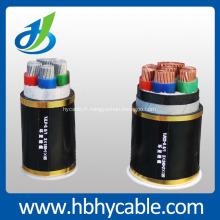 Jusqu'à 35KV XLPE isolé câble électrique à hauban