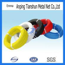 С ПВХ покрытием стальная проволока (TS-E90)