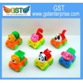 Cartoon Animal Cars Toy Construction Vehicles