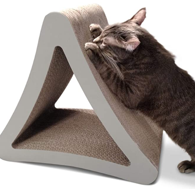 3 Sided Vertical Cat Scratching Post