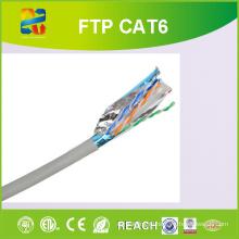 23AWG Соединительный кабель Solid Bc для проводника Cat-6 FTP