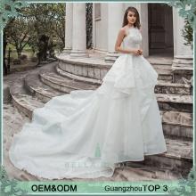 Einfache elegante Brautkleider China Hersteller Großhandelspreis Brautkleid Brautkleid Rüsche Braut Kleid